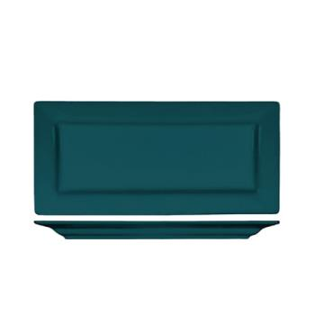 ITIEL17BB - ITI - EL-17-BB - 11 in Elite Harvest Blue Rectangle Platter Product Image