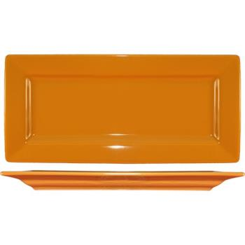 ITIEL17BN - ITI - EL-17-BN - 11 in Elite Harvest Orange Rectangle Platter Product Image