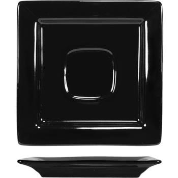 ITIEL2BL - ITI - EL-2-BL - 5 7/8 in Elite Harvest Black Saucer Product Image