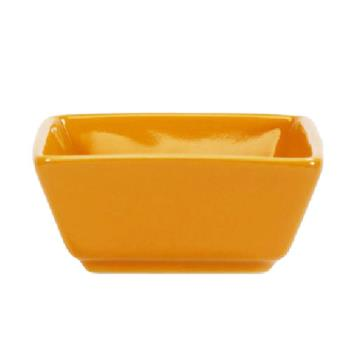 ITIEL4BN - International Tableware - EL-4-BN - 3 1/2 oz Elite Harvest Orange Square Ramekin Product Image