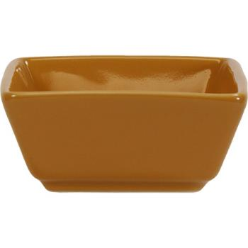 ITIEL4BN - ITI - EL-4-BN - 3 1/2 oz Elite Harvest Orange Square Ramekin Product Image