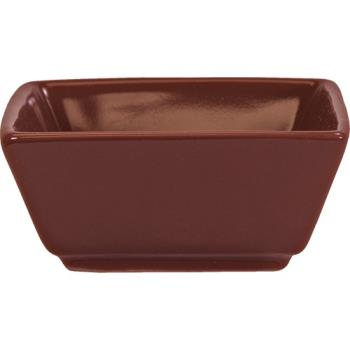 ITIEL4RH - ITI - EL-4-RH - 3 1/2 oz Elite Harvest Red Square Ramekin Product Image