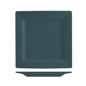 ITIEL40BB - International Tableware - EL-40-BB - 12 in Elite Harvest Blue Square Plate Product Image