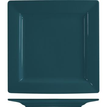 ITIEL40BB - ITI - EL-40-BB - 12 in Elite Harvest Blue Square Plate Product Image