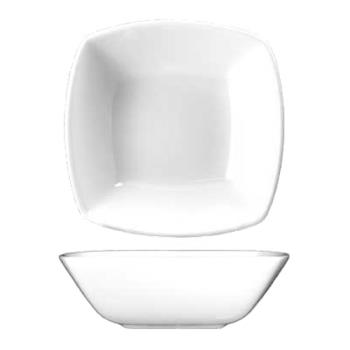 ITWIS15 - ITI - IS-15 - 10 Oz Iris™ Square Bone China Nappie Bowl Product Image