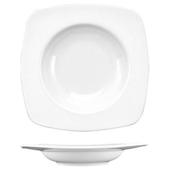 ITWIS3 - ITI - IS-3 - 13 Oz Iris™ Square Bone China Deep Rim Soup Bowl Product Image