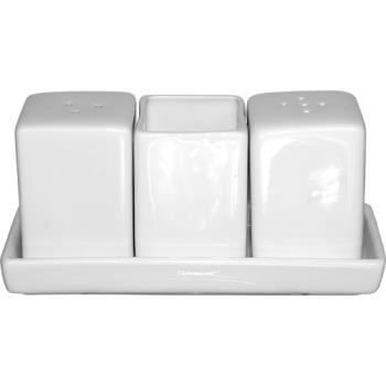ITIMD115 - ITI - MD-115 - Square Mandarin™ Porcelain Salt and Pepper Set Product Image