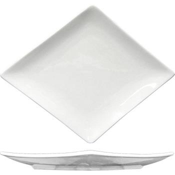 ITWMA21 - ITI - PA-121 - 12 in x 9 1/2 Paragon™ Diamond Fine Porcelain Plate Product Image