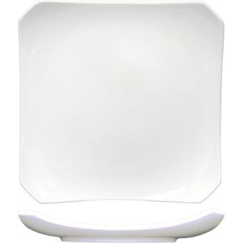 ITWCO22 - International Tableware - PA-220 - Paragon™ 8 in Square Fine Porcelain Plate Product Image