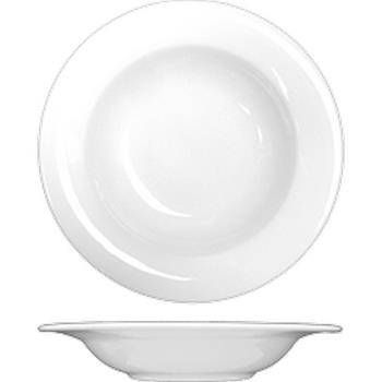 ITWPH3 - ITI - PH-3 - 13 1/2 Oz Phoenix™ Round Bone China Soup Plate Product Image