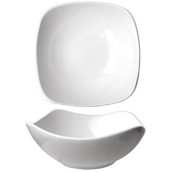 59150 - ITI - QP-15 - 46 Oz Quad™ Square Fine Porcelain Bowl Product Image
