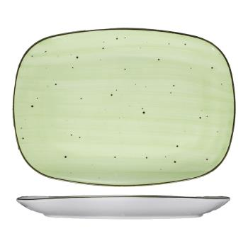 ITIRT14LI - International Tableware - RT-14-LI - 14 in x 9 1/2 in Lime Rotana™ Platter Product Image