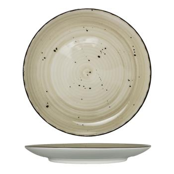 ITIRT16WH - International Tableware - RT-16-WH - 10 1/2 in Wheat Rotana™ Coupe Plate Product Image