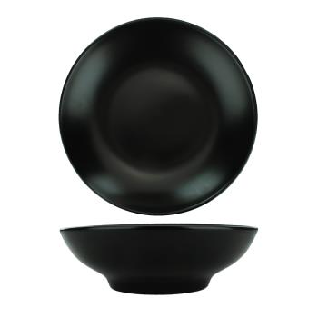 ITITN207MB - International Tableware - TN-207-MB - 6 3/4 in Torino™ BLK Coupe Bowl Product Image