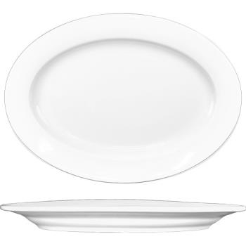 ITWBL12 - ITI - BL-12  - 10 1/2 in x 7 1/2 in Bristol™ Fine Porcelain Platter Product Image