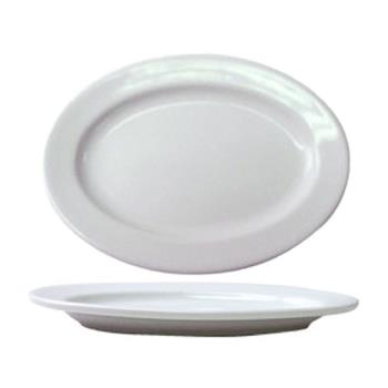 ITWBL34 - ITI - BL-34 - 9 1/4 in x 6 3/4 in Bristol™ Fine Porcelain Platter Product Image