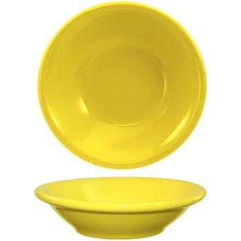ITWCA11Y - ITI - CA-11-Y - Cancun™ 4.75 oz Yellow Fruit Bowl w/Rolled Edge Product Image