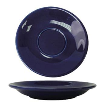 ITWCA2CB - ITI - CA-2-CB - 6 in Cancun™ Cobalt Saucer With Rolled edging Product Image
