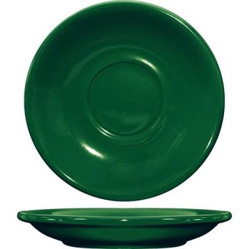 ITWCA2G - ITI - CA-2-G - 6 in Cancun™ Green Saucer With Rolled edging Product Image
