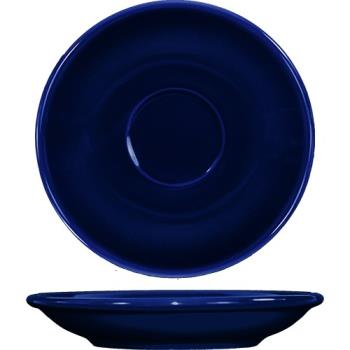 ITWCA36CB - ITI - CA-36-CB - 5 1/5 in Cancun™ Cobalt A.D. Saucer With Rolled edging Product Image