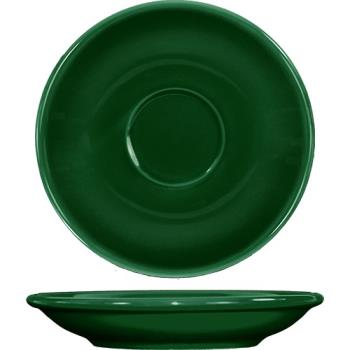 ITWCA36G - ITI - CA-36-G - 5 1/5 in Cancun™ Green A.D. Saucer With Rolled edging Product Image