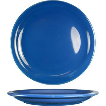 "ITWCAN16LB - ITI - CAN-16-LB - Cancun™ 10 1/2"" Light Blue Plate w/Narrow Rim Product Image"