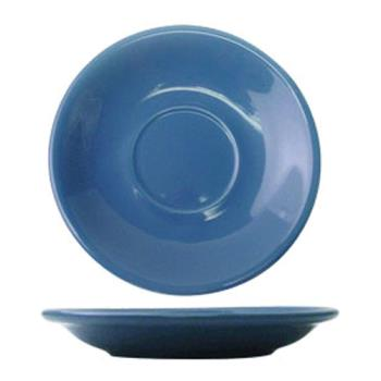 ITWCAN2LB - ITI - CAN-2-LB - 5 1/2 in Cancun™ Light Blue Saucer With Narrow Rim Product Image