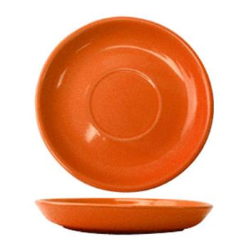 ITWCAN2O - ITI - CAN-2-O - 5 1/2 in Cancun™ Orange Saucer With Narrow Rim Product Image