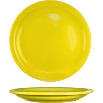 "ITWCAN7Y - ITI - CAN-7-Y - Cancun™ 7 1/4"" Yellow Plate w/Narrow Rim Product Image"