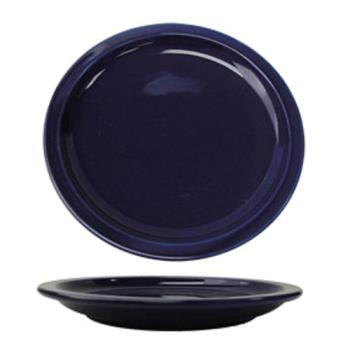"ITWCAN9CB - ITI - CAN-9-CB - Cancun™ 9 1/2"" Cobalt Plate w/Narrow Rim Product Image"