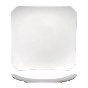 "ITWCO16 - ITI - CO-16 - Collins™ 10 3/4"" Square Fine Porcelain Plate Product Image"
