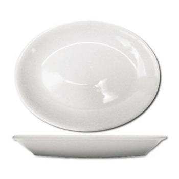 59126 - ITI - DO-12 - 10 1/4 in x 8 in Dover™ Porcelain Coupe Platter Product Image