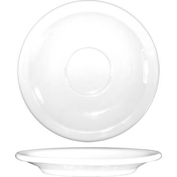 81356 - ITI - DO-36 - 4 3/4 in Dover™ Porcelain A.D. Saucer Product Image