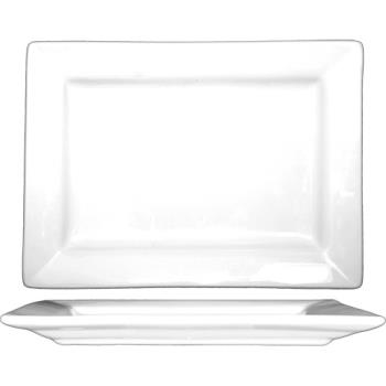 ITWEL22 - ITI - EL-22 - 8 in x 5 7/8 Elite™ Rectangular Fine Porcelain Platter Product Image
