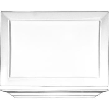ITWEL26 - ITI - EL-26 - 12 in x 7 7/8 Elite™ Rectangular Fine Porcelain Platter Product Image