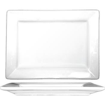 ITWEL28 - ITI - EL-28 - 8 in x 5 5/8 Elite™ Rectangular Fine Porcelain Platter Product Image