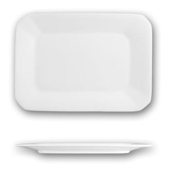 ITWHE12 - ITI - HE-12 - 9 3/4 in x 7 Helios™ Square Bone China Platter Product Image