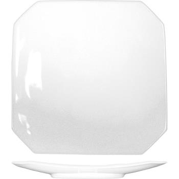 ITWHE21 - ITI - HE-21 - 12 3/8 in Helios™ Square Bone China Plate Product Image