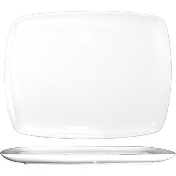 ITWIS12 - ITI - IS-12 - 10 1/8 x 7 3/4 in Square Bone China Platter Product Image