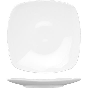 ITWIS16 - ITI - IS-16 - 10 5/8 in Iris™ Bone Square China Plate Product Image
