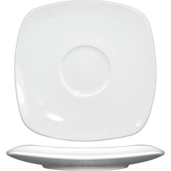 ITWIS2 - ITI - IS-2 - 6 1/3 in Square Bone China Saucer Product Image