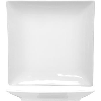 ITWPA16 - ITI - PA-16 - 10 in Paragon™ Square Fine Porcelain Coupe Plate Product Image