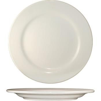 59102 - ITI - RO-8 - 9 in Roma™ Plate With Rolled Edging Product Image