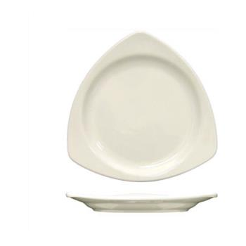 ITWTR10AW - ITI - TR-10-AW - 10 1/2 in Porcelain American White Triangular Plate Product Image