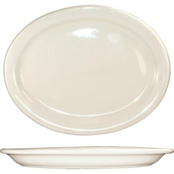ITWVA51 - ITI - VA-51 - 15 1/2 in x 10 1/2 Platter With Narrow Rim Product Image