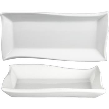 ITWWA21 - ITI - WA-21 - 11 3/4 in x 5 3/4 in Wave™ Rectangular Fine Porcelain Plate Product Image