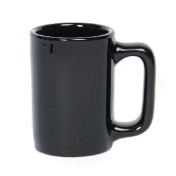 99128 - Tuxton - BBM-1007 - 10 oz Black Texan Mug Product Image