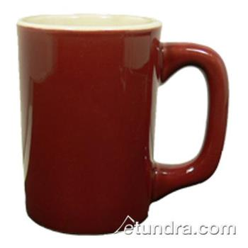 VTXLHBDW - Vertex - LH-BDW - 11 oz. Vista Log Home Mug Burgundy Product Image