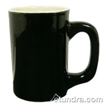 VTXLHBKW - Vertex - LH-BKW - 11 oz. Vista Log Home Mug Black/White Product Image