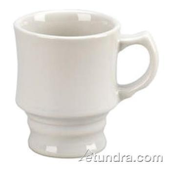 VTXTCW - Vertex - TC-W - 8 oz. Vista Tuscany Footed Mug White Product Image